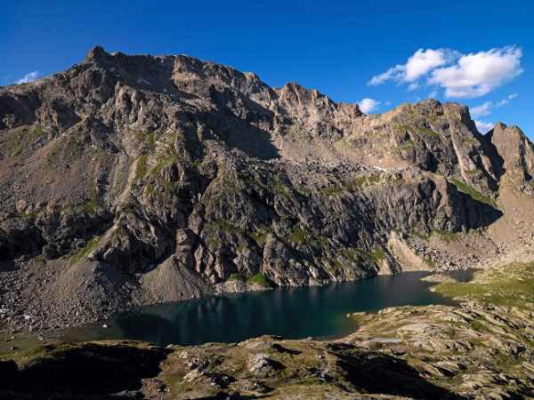 Wanderung Maloja - Wasserscheide Lunghin - © Graubünden Ferien & Geo-Tracks