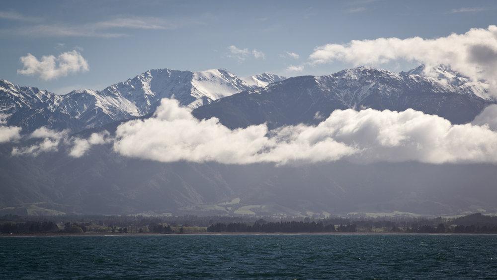 In Neuseeland findet man genug hohe Berge, um Ski zu fahren - © Oreli B.