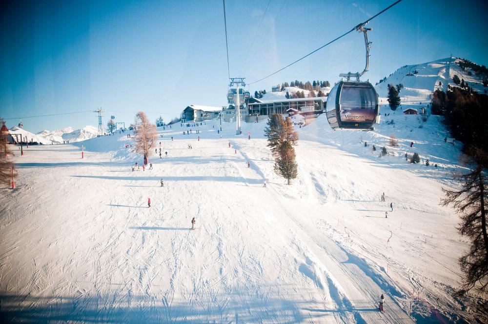 En route pour les pistes de ski de Veysonnaz - © lafouinographe.com
