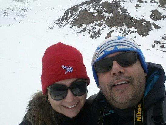 Valle Nevado - Estação esrava fechada mas dava pra bricar na neve. boas fotos hoje.  - ©humberto.ferreirajr14