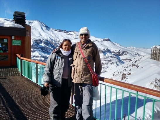 Valle Nevado - Belíssima lugar, ameiiiiii!!! - © rosancarmo63