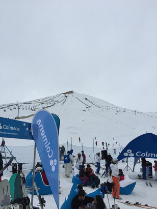 El Colorado - Nice conditions today - © iPhone