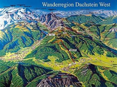 Dachstein Karte.Rother Wanderführer Dachstein Tauern