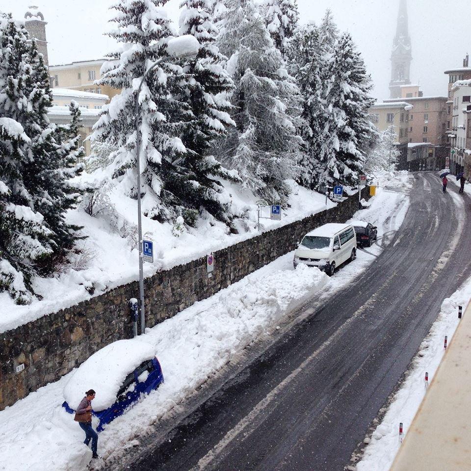 St. Moritz 20.5.2015 - © Facebook St. Moritz - Top of the world