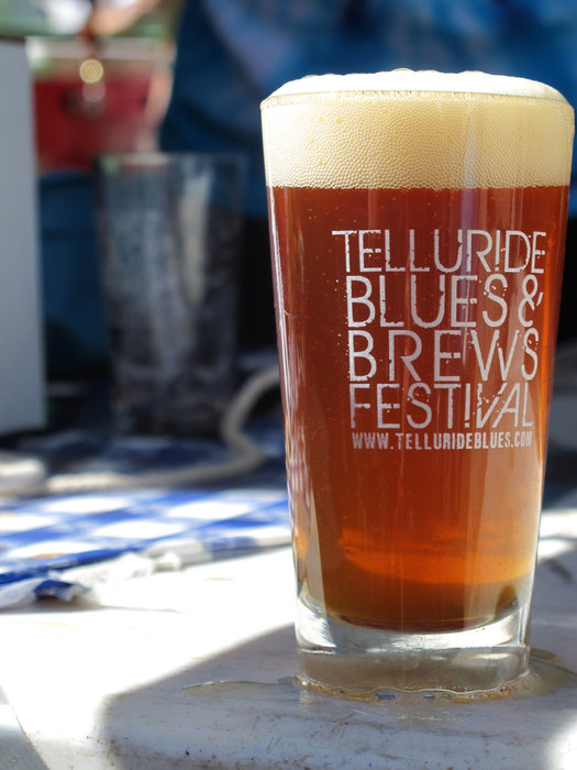 The Grand Tasting features 56 breweries pouring more than 170 different beers. - © Telluride Blues & Brews