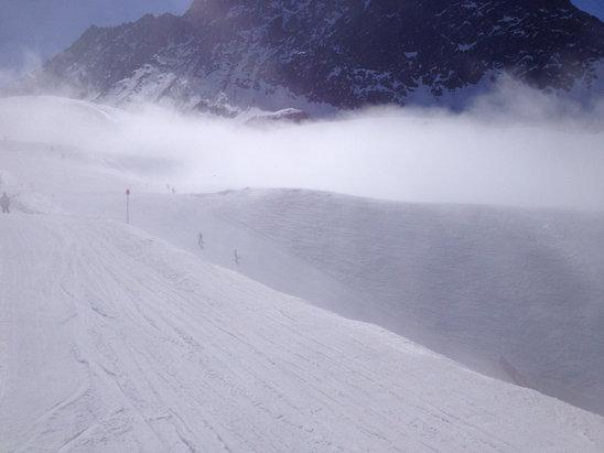 Ski Portillo - Ski entre las nubes...!! Día Increíble... - © iphone de Pablo Puliafit
