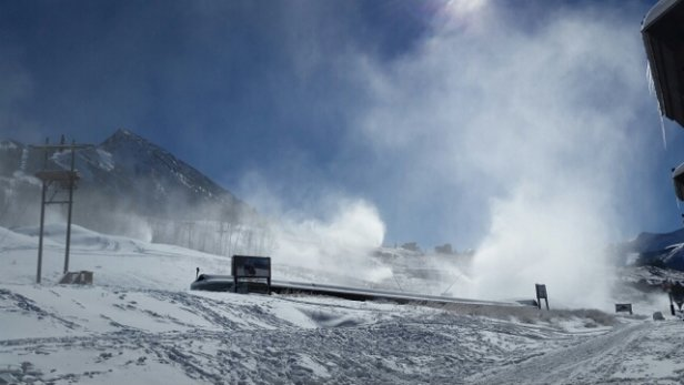 Crested Butte Mountain Resort - dumping in Crested butte... - © rickhorn950