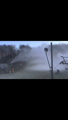 Appalachian Ski Mountain - From the live cam. Looks like they're making progress! - © Ric W
