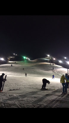 Afton Alps - Beautiful night to hit the slopes. - © Michael's iPhone