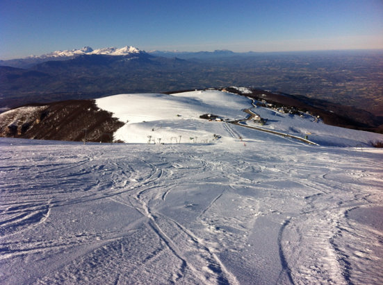 Passo Lanciano - Majelletta - [! skireport_firsthandpost_pagetitle ] - © iPhone di Marco