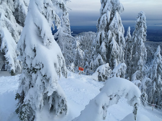 Cypress Mountain - It's time to get rad  - © iPhone