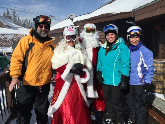Angel Fire Resort - had a great time skiing with  Santa Claus ! - © Anonymous