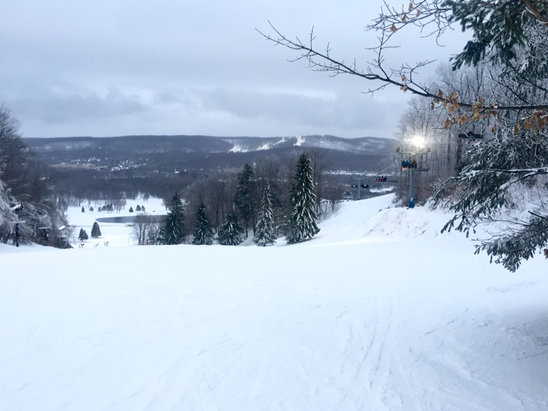 Boyne Highlands - Firsthand Ski Report - ©Kelli's iPad
