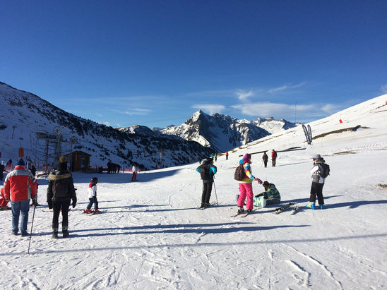 Saint Lary Soulan - Summit la Portet  - © SIMON's iPhone