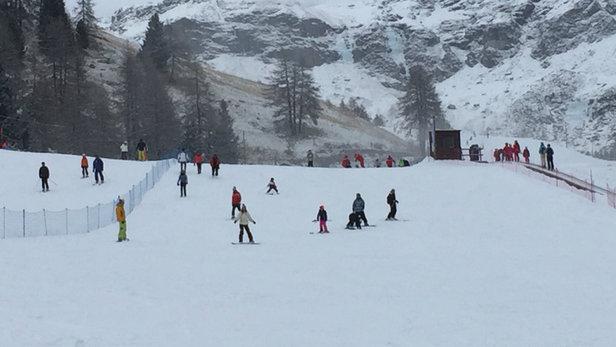 Champoluc - Monterosa Ski - 10 cm di splendida polvere bianca e continua!!! - © Alby MC 98000