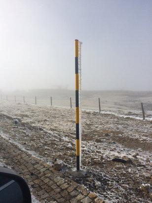 Serra da Estrela - Gelo! - © iPhone de DRT