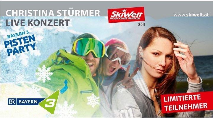 BAYERN 3 Pistenparty - © SkiWelt Wilder Kaiser-Brixental
