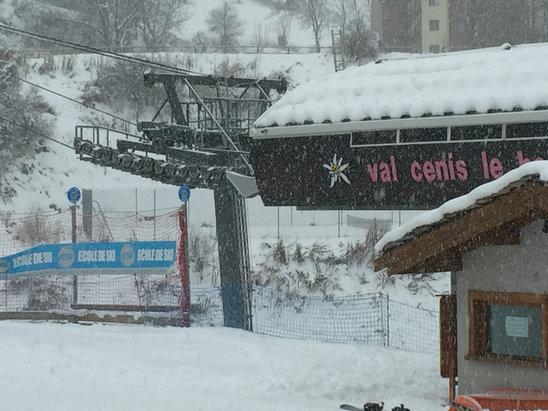 Val Cenis Vanoise - Today snow snow snow - © iPhonePaolo