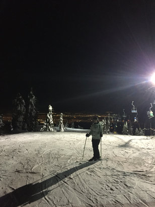 Cypress Mountain - Beautiful night on Cypress! - © Ianc's iPhone