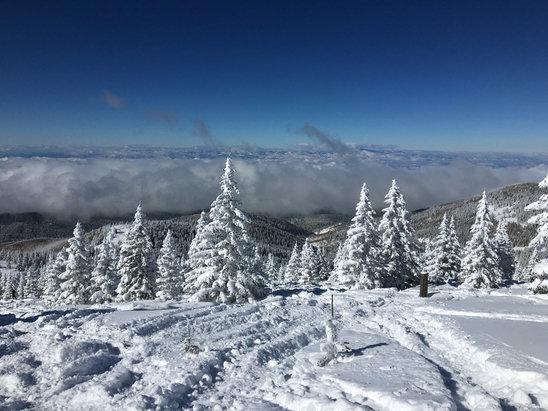 Ski Santa Fe - What a pow day! - © ePhone