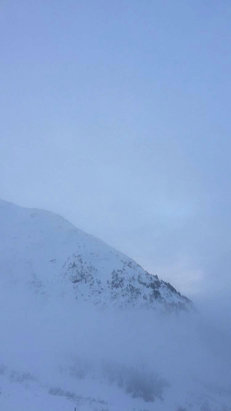 Alyeska Resort - Foggy day on the mountain today! - © Daniel's iPhone (2)
