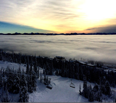 Big White - Beauty day and snow was great!