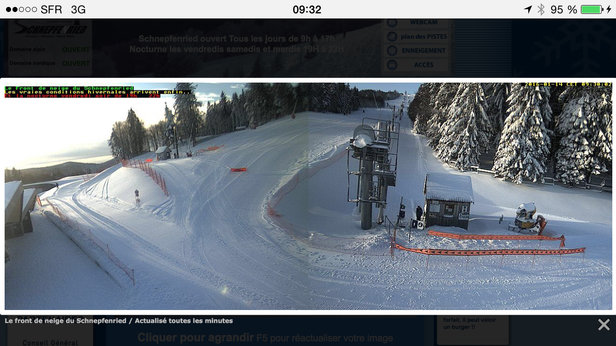 Le Schnepfenried - [! skireport_firsthandpost_pagetitle ] - © seb