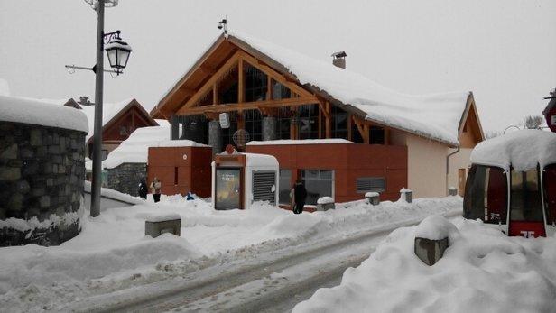 Valmeinier - superbe pistes et depuis 3 jours que de la neige fraîche. - © l.prevot