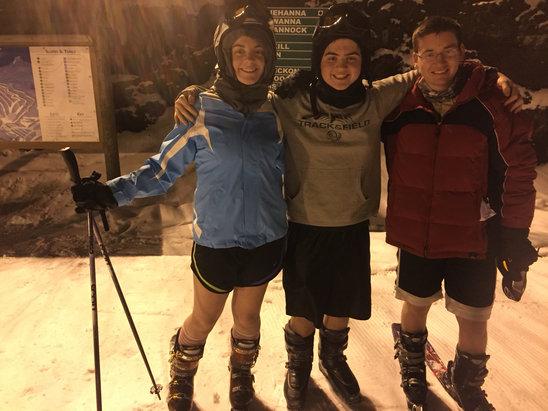 Elk Mountain Ski Resort - Had a blast tonight! Snow was mushy but no ice at all - © Sarah's iPhone