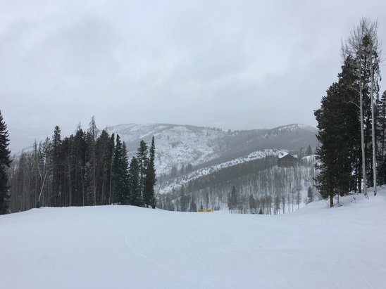 Beaver Creek - Alittle chilly today but it was snowing so skiing was great! - © Michelle's phone