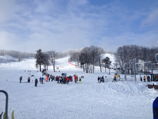 Boyne Highlands - Sunshine and snow at Boyne Highlands! - © David's iPhone