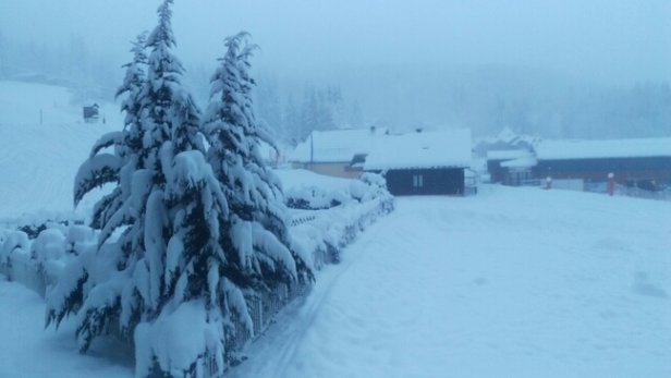 Morillon - snowed a tonne !! hopefully setting us up for the rest of the season!!  - © kelansolomon