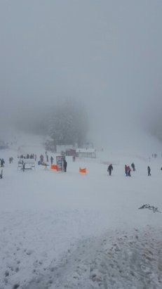 Pamporovo - new snow from this night. ice under from yesterday rain. excellent! - © trpegalaxy