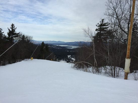 Gunstock - A little icy in some areas. Overall a good day..... Lines not too long - © iPhone (5)