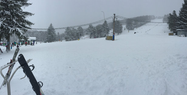 Tussey Mountain - Firsthand Ski Report - ©William's iPhone