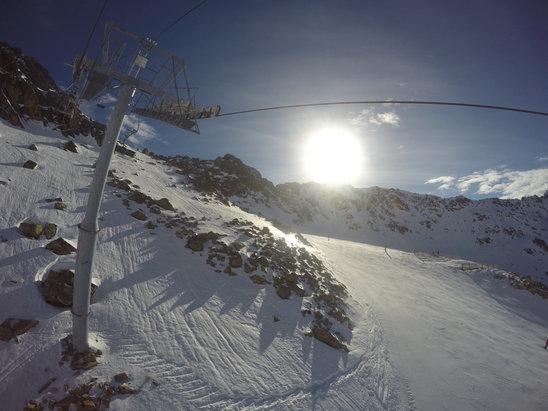 Grand Tourmalet (La Mongie / Barèges) - Dernière semaine de ski à la mongie...neige molle/fondue...c'était LA semaine à passer... - © iPhone de Guewen