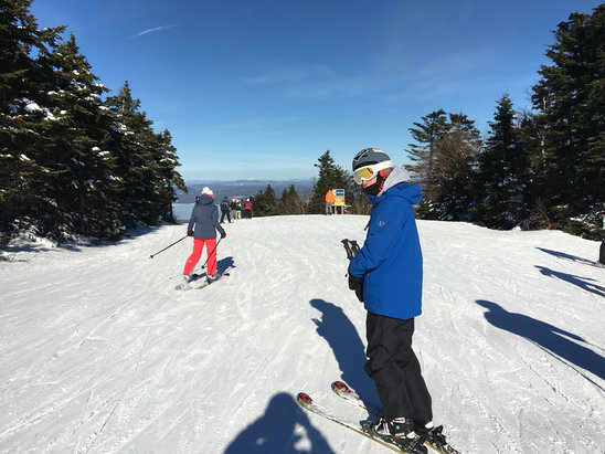 Mount Sunapee - Great view of the White Mountains! - © ChrisB