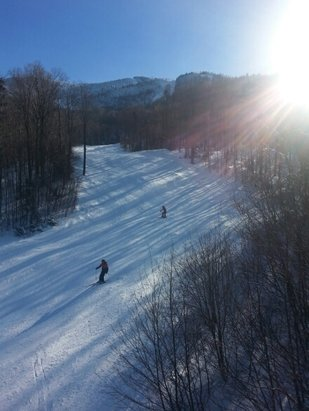 Smugglers' Notch Resort - Sunny day and great skiing at Smuggs. - © lazzman007
