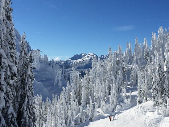 Stevens Pass Resort - [! skireport_firsthandpost_pagetitle ] - © Nikki