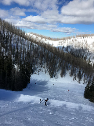 Ski Apache - Wild Onion was great January 13. & 14, Ski Apache staff was great!  - © Logan's iPhone