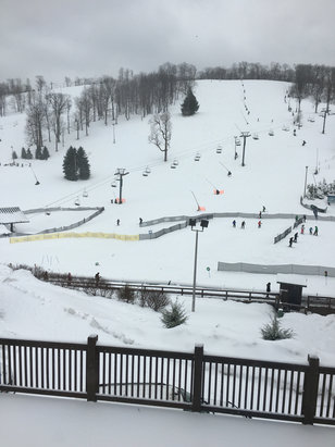 Seven Springs - Slopes are sweet! - © Kristen's iPhone