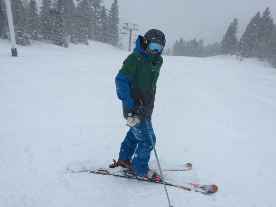 Deer Valley Resort - Great day - no lines and plenty of fresh snow.   - ©David's iPhone