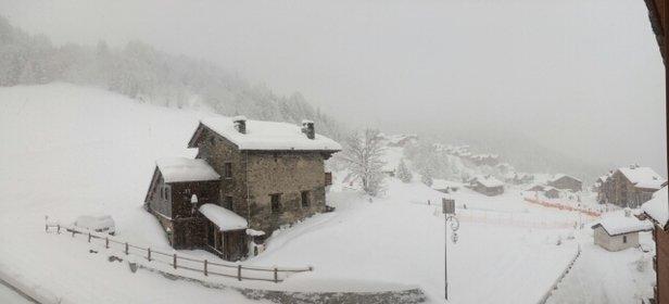 Sainte Foy Tarentaise - 40 à 50 cm de neige.  - © jdaguenet