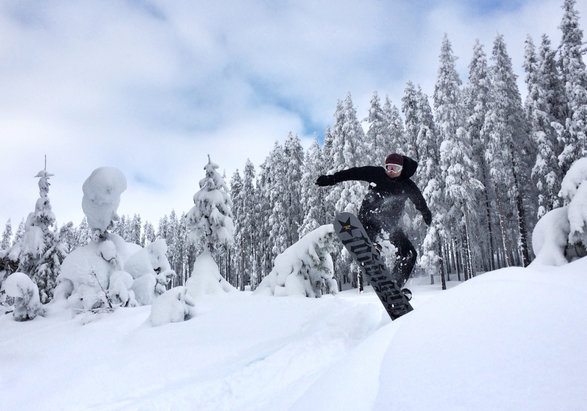 Lookout Pass Ski Area - The snow was fantastic. Had an awesome day! - © Ryan