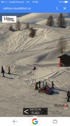 Valmeinier - Au top  Neige fraîche  - © iPhone de said (2)