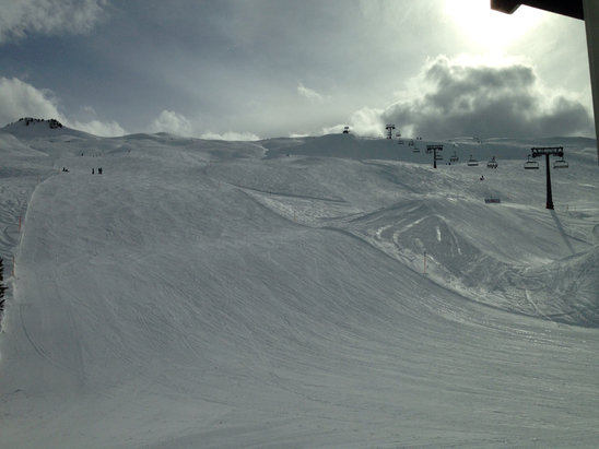 Hoch-Ybrig - Great day and snow.