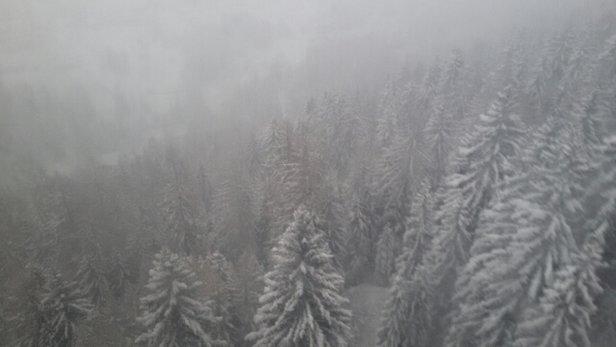 La Thuile - tanta tanta neve e poca visibilità.....  - © gianmarcorocchi89