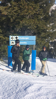 Solitude Mountain Resort - [! skireport_firsthandpost_pagetitle ] - © iPhone (2)