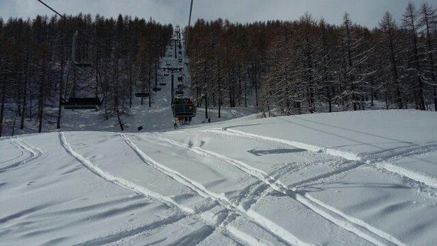 Argentera - Non tutte le piste sono aperte però neve fantastica!! fresca :-) - © robitavella