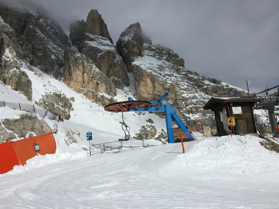 Cortina d'Ampezzo - Finally some fresh powder on the Alps..  Now is the Best time to go for this season. - © PA's iPhone